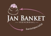 Een unieke bruidstaart bestel je uiteraard bij Jan Banket